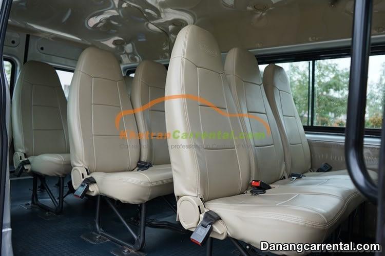 16 seats Ford Transit from da nang to hoi an