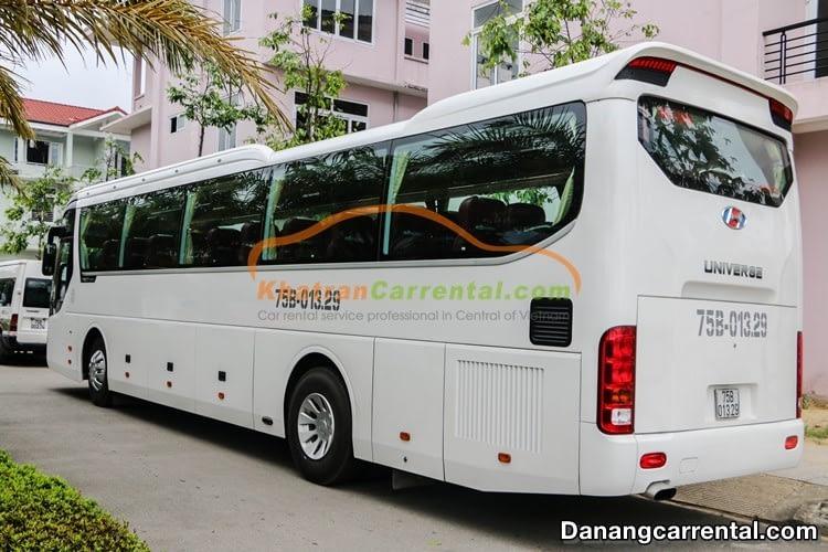 45 seats car rental danang