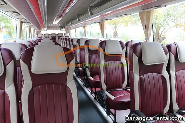 45 seats car rental da nang to hue