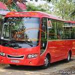35 seats Isuzu Samco private car hoi an to hue