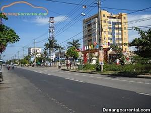 Car rental from Da Nang to Tam Ky