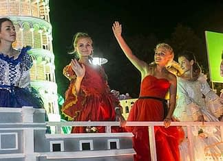 BOISTEROUS ATMOSPHERE AT DA NANG STREET CARNIVAL