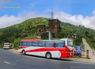 Explore the Hai Van pass by car