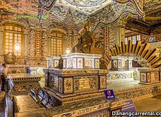 Tomb of Khai Dinh King