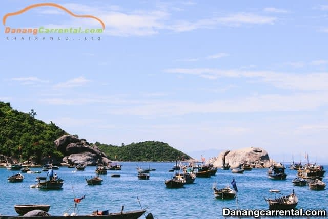 traveling to Cu Lao Cham island