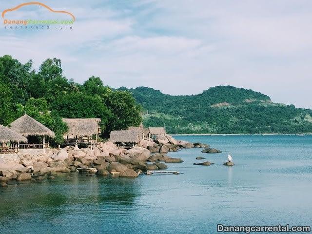 Bai Rang beach in Da Nang city