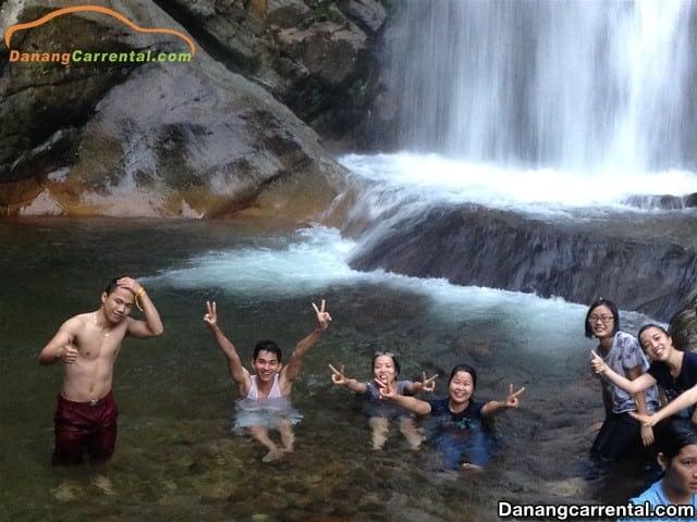 Da Dam waterfall pool