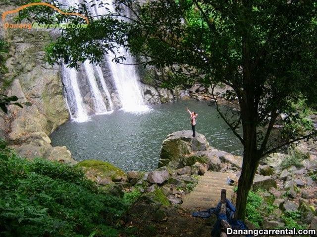 Da Dam waterfall Hue