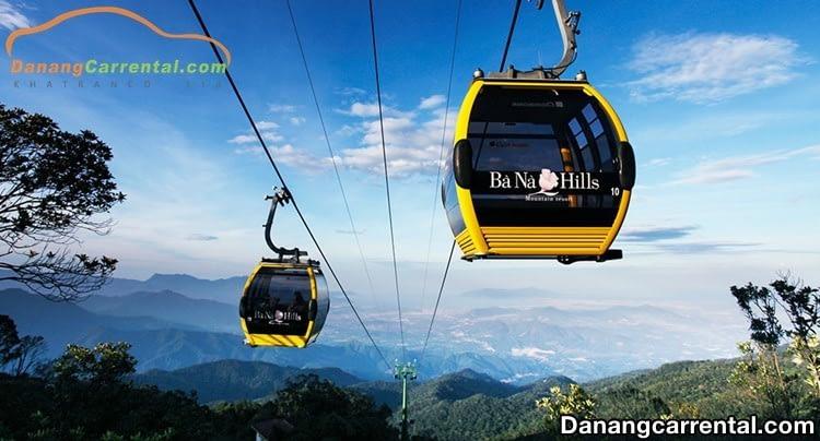 Ba Na cable car