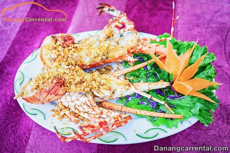 Seafood - Da Nang beach